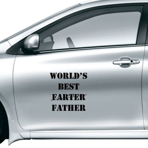 World's Best Father Festival Quote Car Sticker on Car Styling Decal Motorcycle Stickers for Car Accessories Gift #Carsticker #World #Carstyling #Best #Carcovers #FatherFestival #Caraccessories #Quote #Sticker #CarDecoration #Cardecals #vinyl #Removable