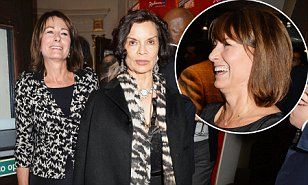 Bianca Jagger and Carole Middleton looked stylish as they attended an after party celebrating the press night performance of new musical The Scottsboro Boys in London.