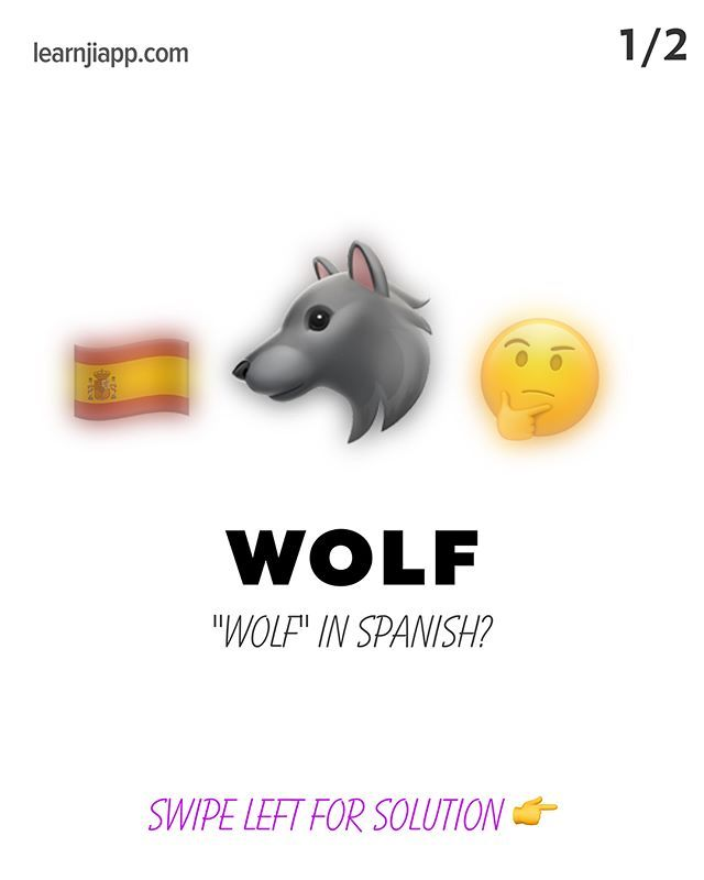 Tap on the image to find and engage with the Instagram post (along with photography credits). 👆  🏷 image tags: emojipop,learnwithemoji,emojiart,app,iphone,emojis,lobo,emoji4emoji,emoji,language,wolf,ios,emojisinthewild,🇪🇸,learningspanish,spanish