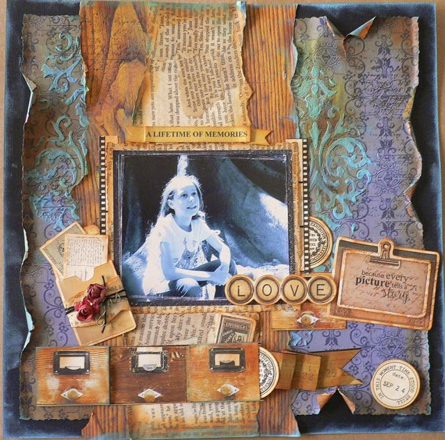 ADRIANA BOLZON ** AB INSPIRATIONS: Kaisercraft March - Story Book collection