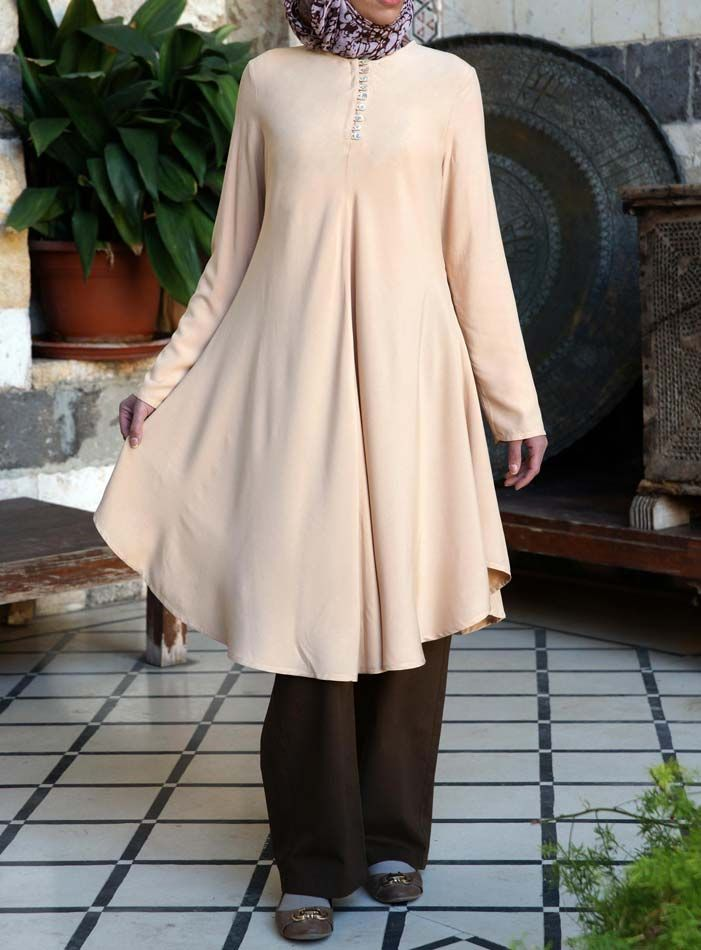 SHUKR USA | Flared Tunic