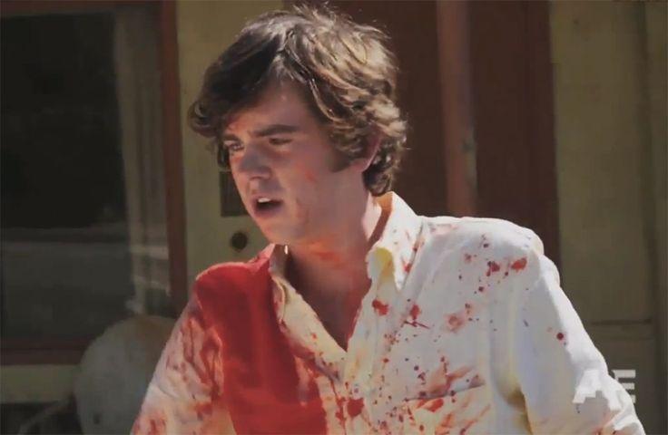 Bates Motel: ator Freddie Highmore vira o assassino Norman Bates