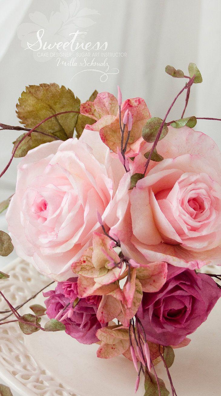 Wafer Paper Rosen Wafer Paper Rose Esspapier Rose Bltenpaste