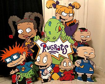 Rugrats Props, Rugrats Birthday, Rugrats Party, Rugrats Baby Shower Props, Rugrats Decoration, Rugrats Cutouts, Rugrats Centerpieces,Rugrats