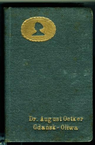 Vintage Dr Oetker recipe book