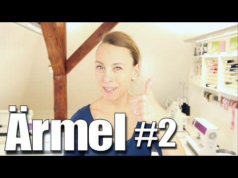 Ärmel annähen leicht gemacht - mit Anna von einfach nähen - YouTube