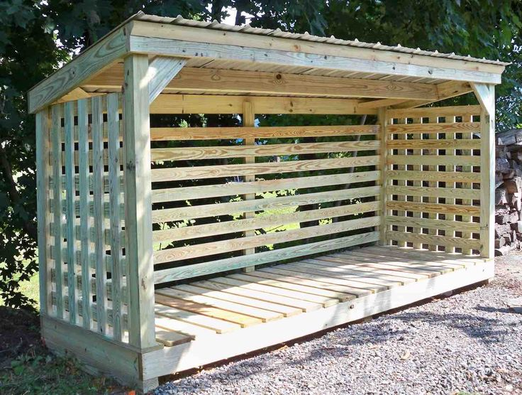 108 Best Firewood Shed Shelter Rack Images On Wood Projects Woodwork And Building A Roof