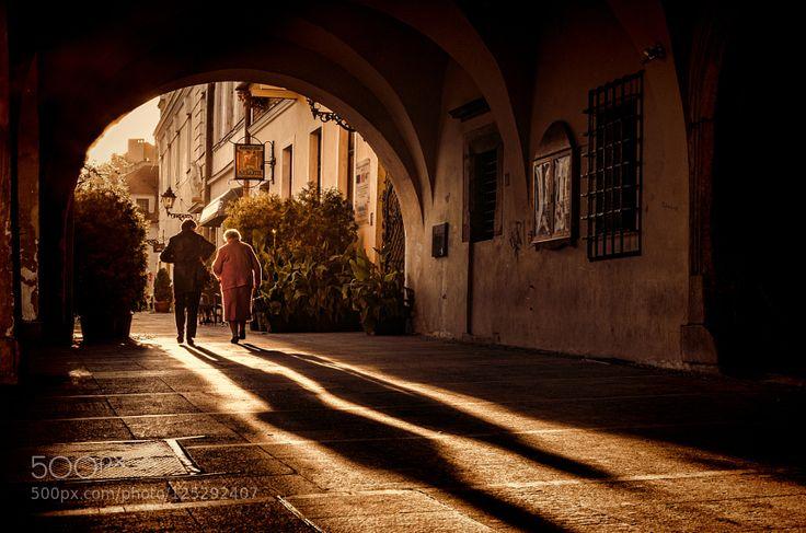 together - Pinned by Mak Khalaf sunset in the old town - Tarnow - Poland City and Architecture EuropePolandTarnowarcadesarchitectureartbuildingcitylightoldshadowshadowsstreetsunseturban by mlatocha