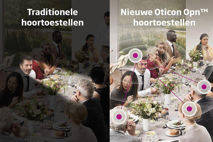 Het volgen van gesprekken in lawaaiige omgevingen kan uitdagend zijn met een gehoorverlies. De nieuwe Oticon Opn, nu bij ons verkrijgbaar, helpt mensen met gehoorverlies eenvoudiger en actiever te laten deelnemen aan gesprekken terwijl ze nog steeds op een natuurlijke manier van hun omgeving kunnen genieten. Ervaar Oticon Opn zelf, geheel vrijblijvend, bij Horend Goed op 20 april in Zaandam tijdens de Opn dag. Meer info: http://www.oticon.nl/solutions/opn