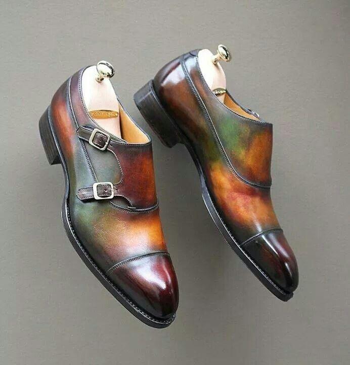 Multicolor men shoes
