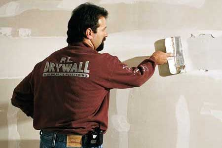 Photo: Allen Penn   thisoldhouse.com   from How to Finish Drywall