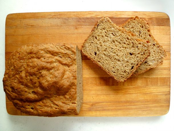 Bread Machine Rye Bread! Excellent, just 2/3 whole grains but so yummy ...
