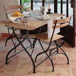 17 best images about bistro chairs on pinterest table and chairs french kitchens and patio - Bistro sets for small spaces collection ...