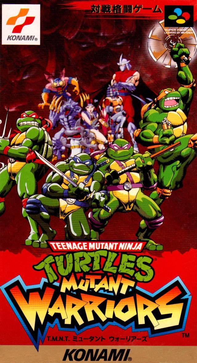 Teenage Mutant Ninja Turtles Mutant Warriors Super Famicom Japan Teenage Mutant Ninja Turtles Art Teenage Mutant Ninja Ninja