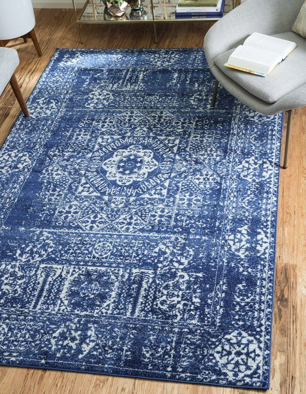 Ove Blue Area Rug Apartment Therapy Inspiration In 2019 Rugs Patterned Carpet Rugs In Living Room