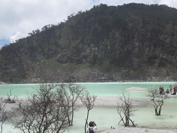 Kawah Putih - South Bandung, West Java Indonesia