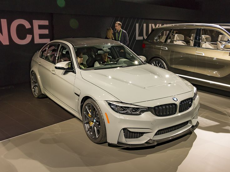 BMW plans to produce only 1200 of its M3 CS models for the worldwide market. That makes the 2018 M3 CS a collectible, as well as the hottest of the current M3s. #LAAutoShow