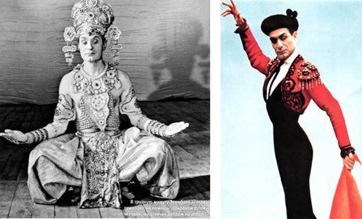 15 июля - день рождения известного танцовщика, солиста эстрады, хореографа Махмуда Эсамбаева. Говорят, что талия у него была 48 см. Изящный, сильный, артистичный Эсамбаев был знаменит на весь мир. Танцы ставил сам. Обычно, когда говорят про Эсамбаева, показывают отрывки из его народных танцев. Но в этой хронике  dance-people.ru/video/mahmud-yesambaev.html можно видеть и модерновый кусочек, совсем в стиле Боба Фосса.