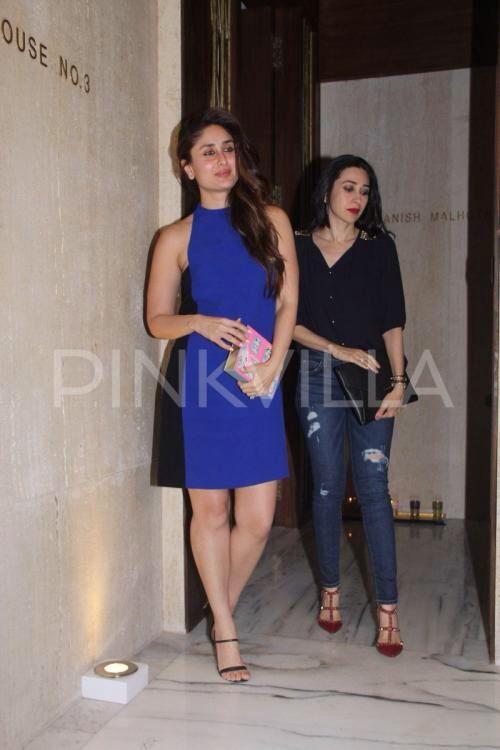 Karisma, Kareena & Alia attend #ManishMalhotra's birthday bash!