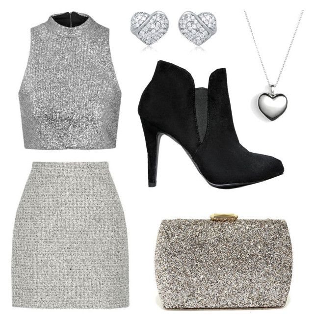 """Party look"" by anicute on Polyvore featuring Topshop, Proenza Schouler, Pandora and Lulu*s"