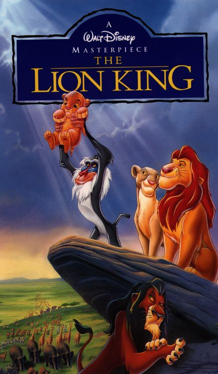 When ever my sister watched the movie we would always sing along with the songs The Lion King