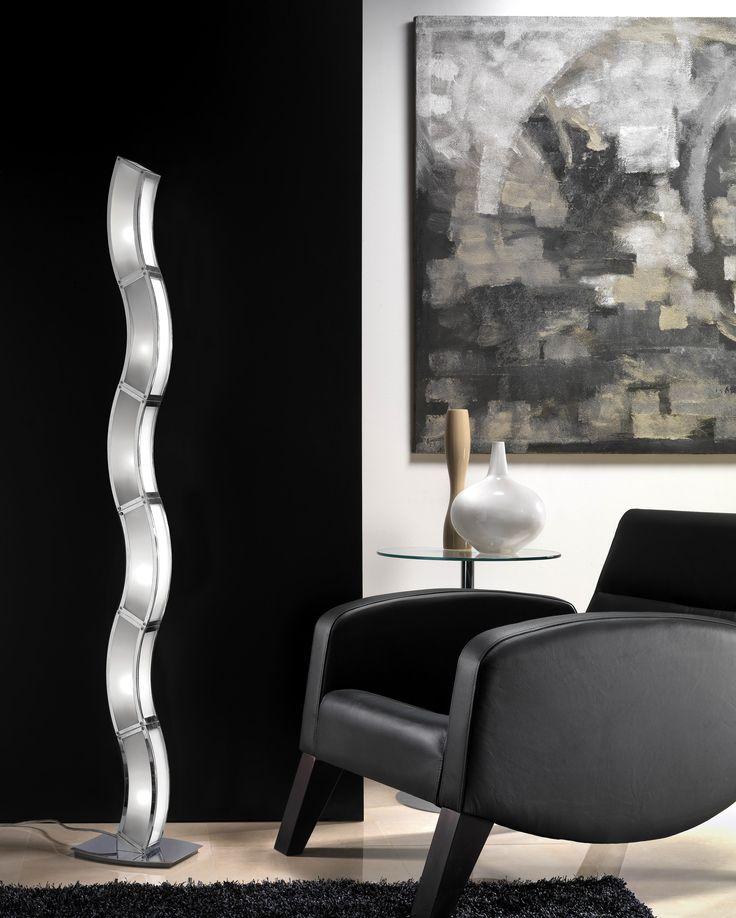 the mantra duna floor lamp brilliant modern design