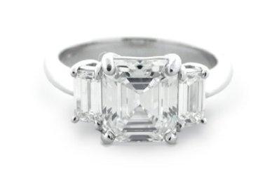 2.50 Ct Emerald Cut Three Stone Diamond Engagement RingDiamond Engagement Rings, 250, Emerald Cut, Emeralds Cut Three Stones, Jewellery Bling, Ct Emeralds, Stones Diamonds, 2 50 Ct, Diamonds Engagement Rings