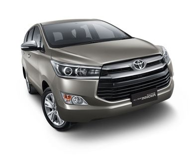 Exterior Look All New Kijang Innova Tipe Q (Front)
