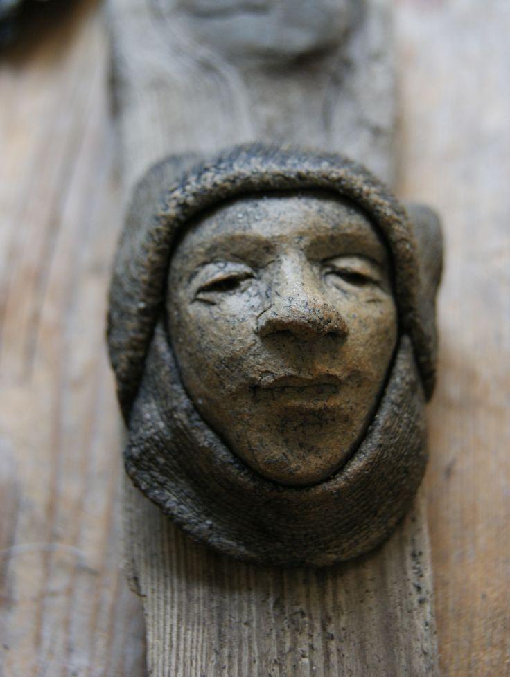 Åsa Melin, sculpture in stonewareclay.