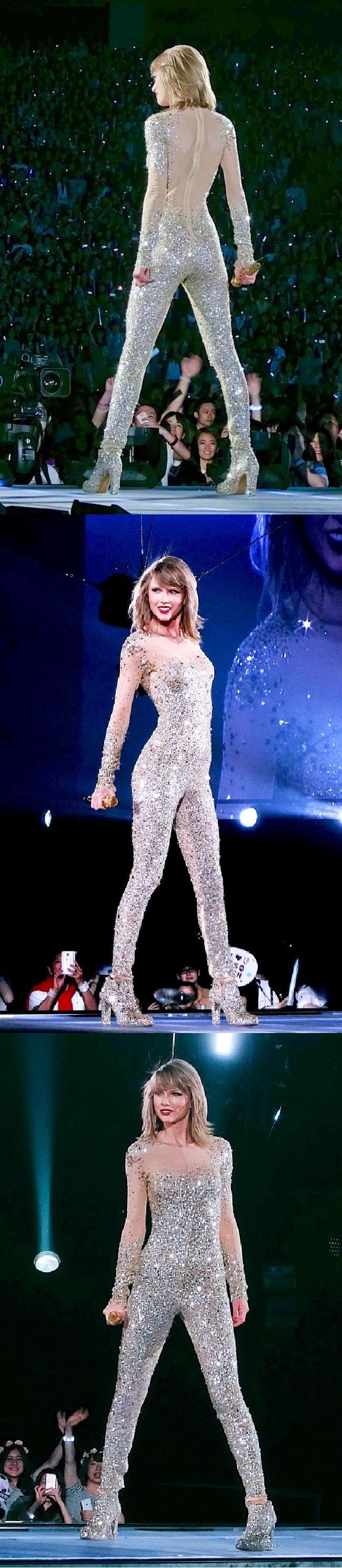 Taylor Swift @taylorswift13 @taylorswift #taylorswift --- 1989 tour #legs #tuchus