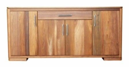 BTBF-140 1 drawer 4 doors drawers with double extension ball bearing runners 1 adjustable shelf behind doors SPECIFICATIONS  Timber: Solid Tasmanian Oak/ Blackwood Dimensions: 1800 w 450 d 850 h