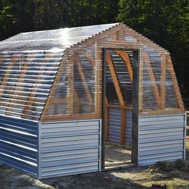 16 Homemade, DIY Sheds To Fulfill Your Storage Needs. Buy Your Corrugated  Roofing At