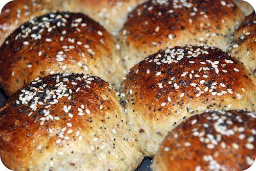 Multigrain rolls | Baking-Breads & Muffins | Pinterest