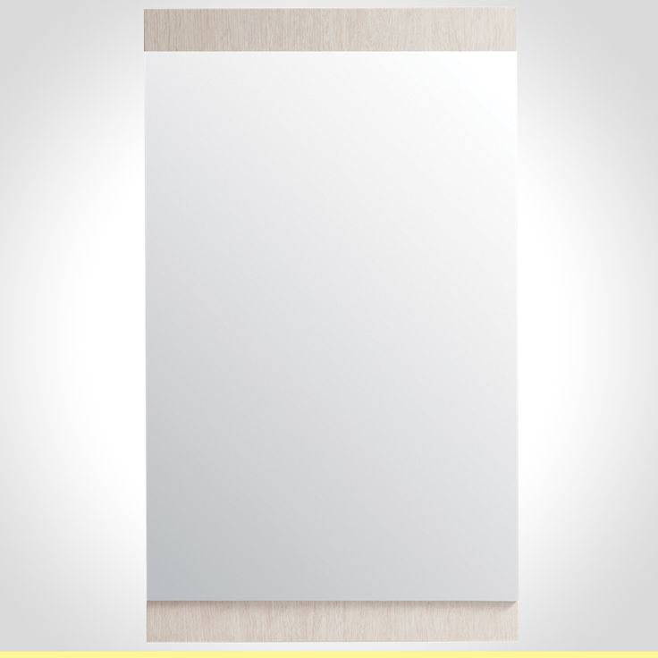 Rococo 550mm Mirror with wall shelf White