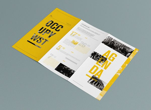 OCCUPY Wall-Street historical booklets on Behance