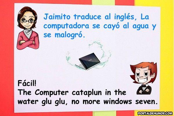 Jaimito Traduce al Inglés