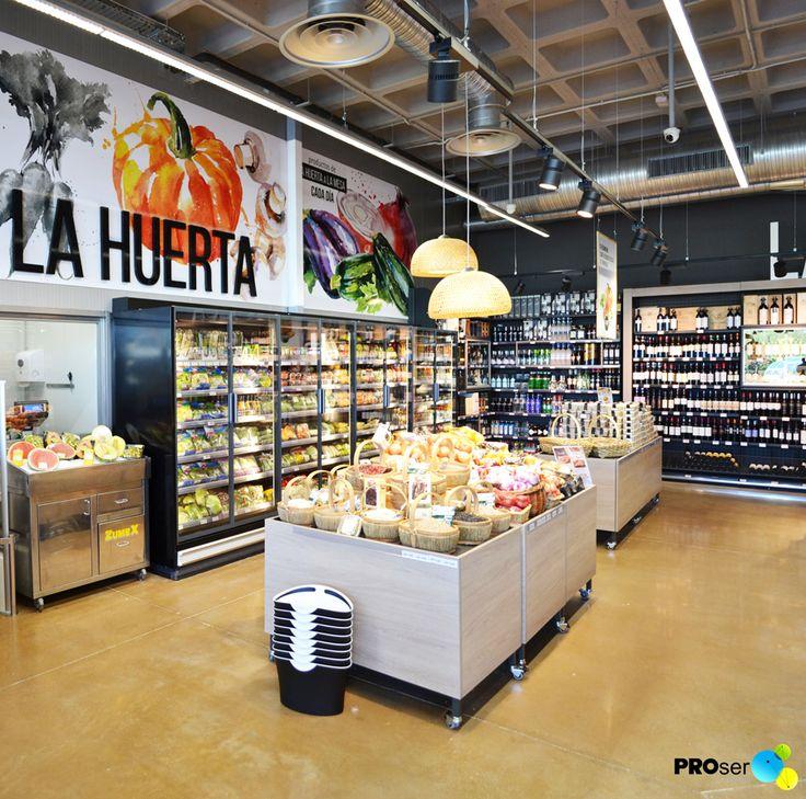 Las 25 mejores ideas sobre estanteria para almacenes en for Mini market interior design ideas