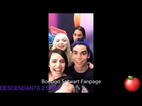 Cast of Descendants 2 (descendientes) - YouTube