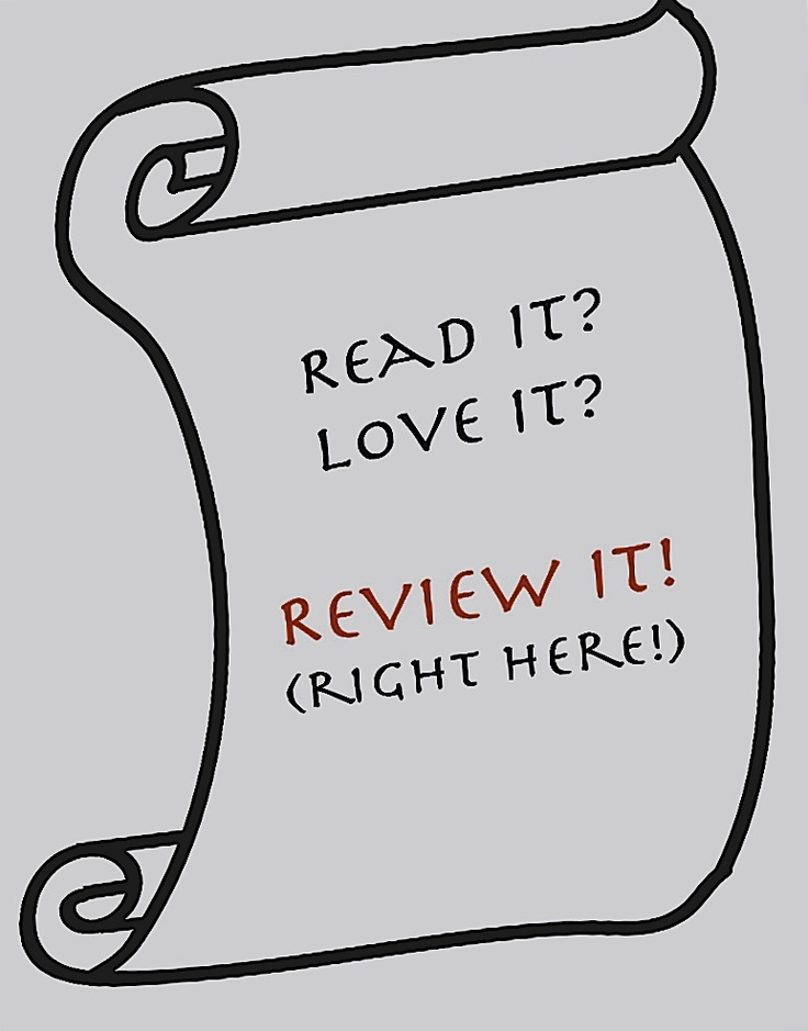 So, you loved The Secret Viking? Amazon might nudge you to write a review on the site. And really, why resist? :-)