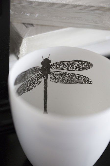 Dragonfly Tealight Holder - Tara Dennis Store