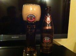 Cerveza Erdinger Dunkel  País: Alemania  Tipo: Dunkel  Porcentaje de Alcohol: 5.3%  Ver reseña: http://cepasdestiladosfermentados.tumblr.com/post/23150960218/erdinger-dunkel