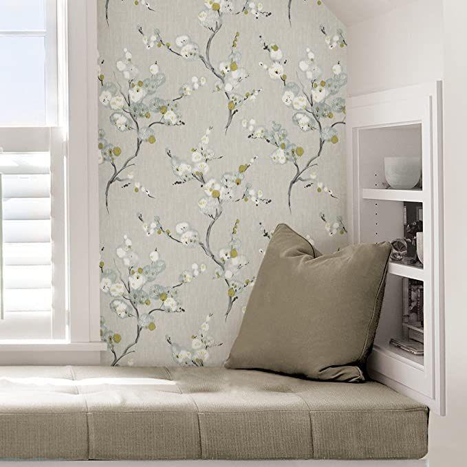 Nuwallpaper Nu2679 Mirei Peel Stick Wallpaper Taupe Wallpaper Amazon Canada Nuwallpaper Peelable Wallpaper Wallpaper Roll