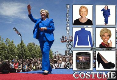HILLARY CLINTON COSTUMES AND ACCESSORIES