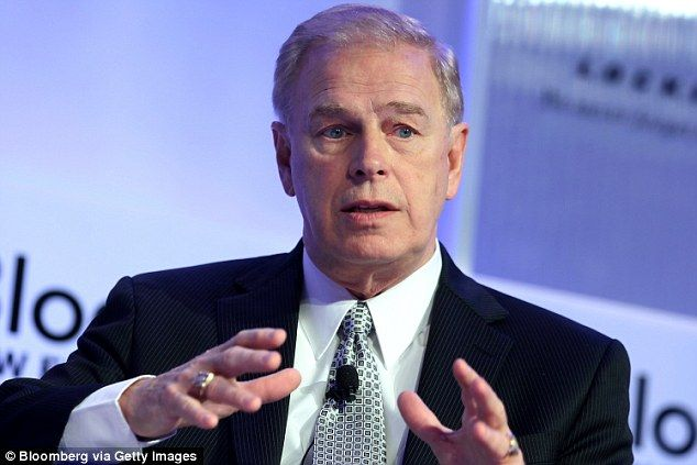 Gaffe: Ted Strickland told an audience that Democratic VP pick Tim Kaine was'a wonderfully prepared person to be Vice President, and to be the President if that ever became necessary'