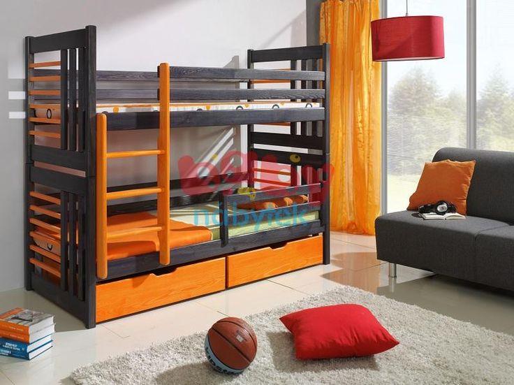 Patrová postel Jeffrey - Dětské patrové postele