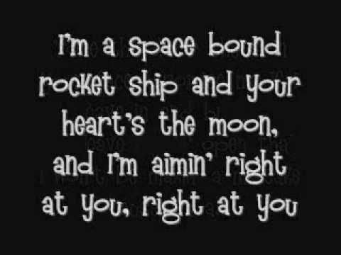 Lyrics for the song Space Bound from the Recovery CD by Eminem