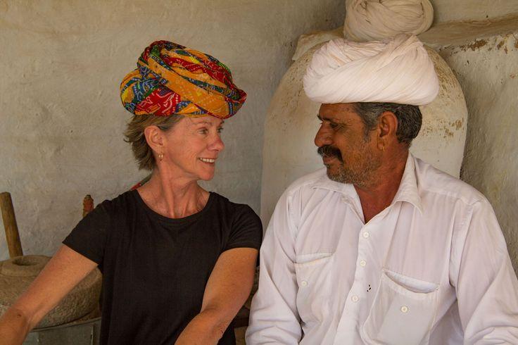 Rajasthani village life