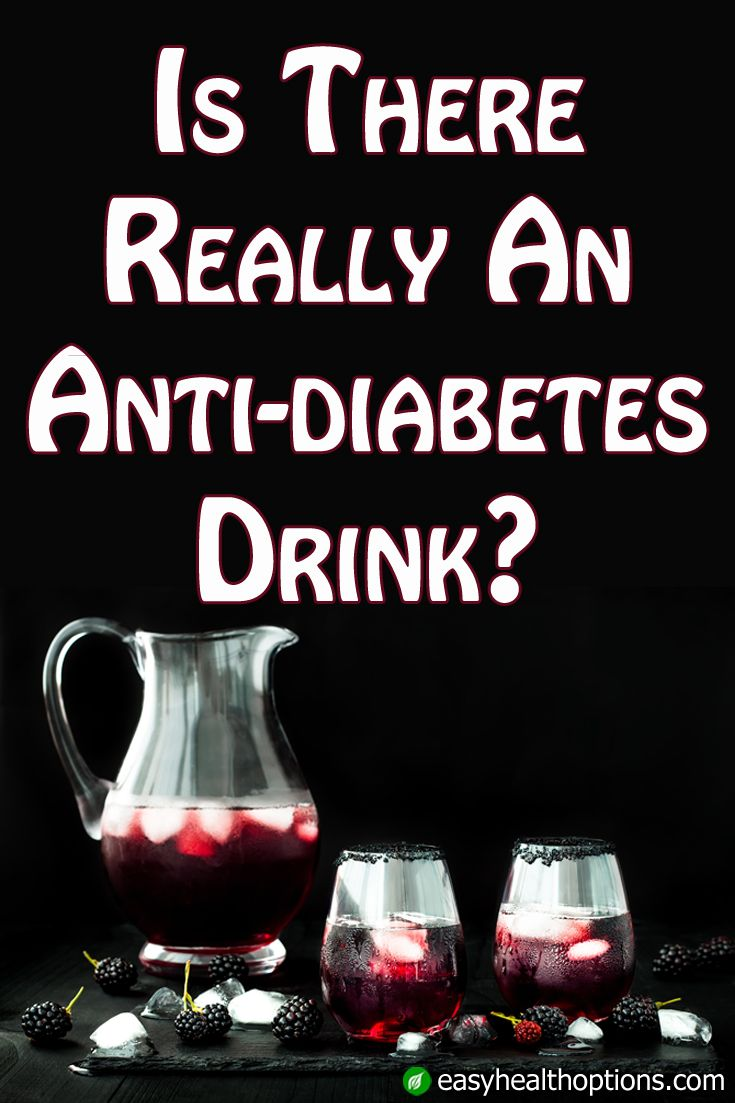 What can you drink without sending your blood sugar soaring? There's always water but that's boring.Try this anti-diabetes drink….