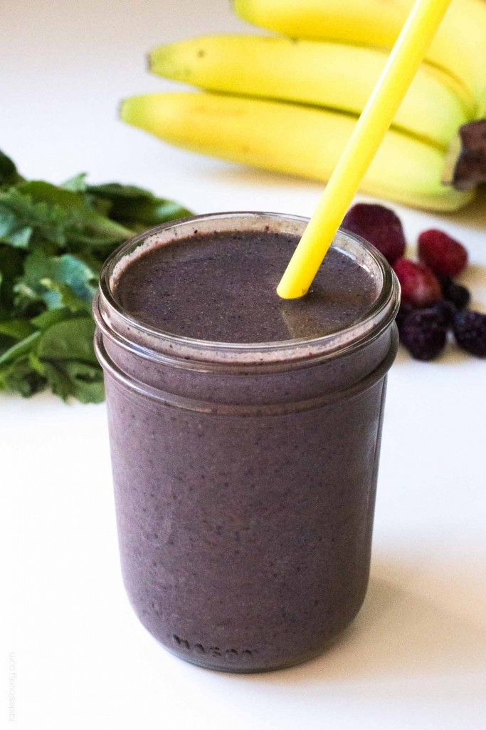 Ultimate Superfood Pregnancy Smoothie - a superfood pregnancy smoothie with everything you and your growing baby need!