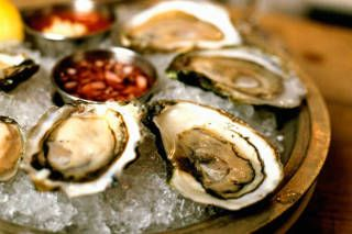 Oysters are your salvation when you're dieting and dining out. In addition to being low in calories